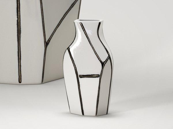 3D mini vase
