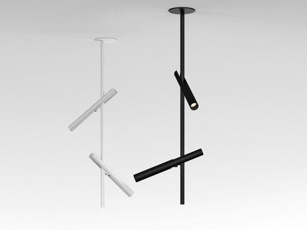 3D esprit double ceiling lamp