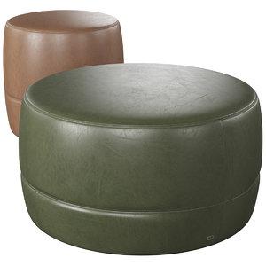 3D model table - pouf sede