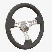 Steering wheel - retro - sport