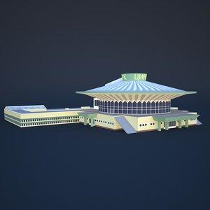 3D model bishkek state circus