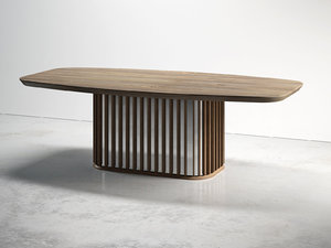 gondole dining tables 3D model