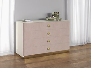 3D jasmine chest drawers