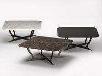 3D richard coffee table marble