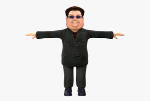 man glasses 3D model