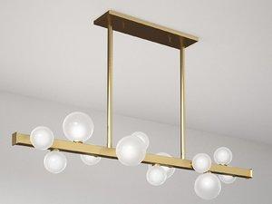mini-hinsdale 8744-pn lamp 3D model