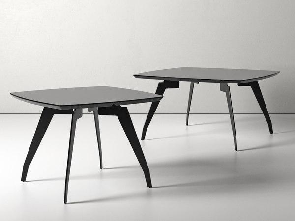 3D jimmy medium coffee table model