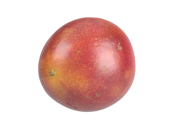photorealistic scanned passion fruit 3D