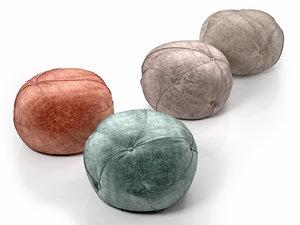 3D model sofia pouf