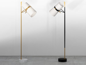 3D yasmin floor lamp