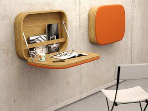 nubo desk 3D model
