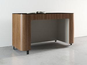 postmoderne desk 3D model