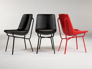 3D stiletto chair