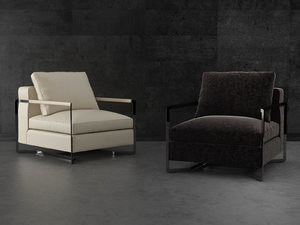 portfolio armchair 3D model