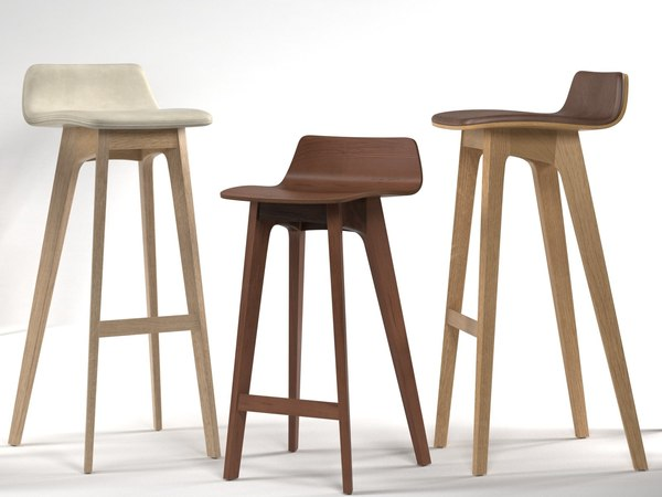 3D model morph barstool