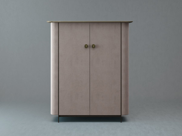 alexander bar cabinet 3D model