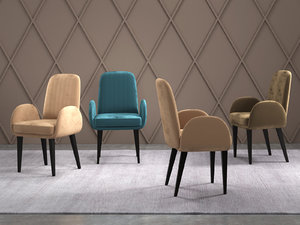 gondole armchair 3D