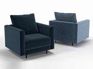 3D enki armchair