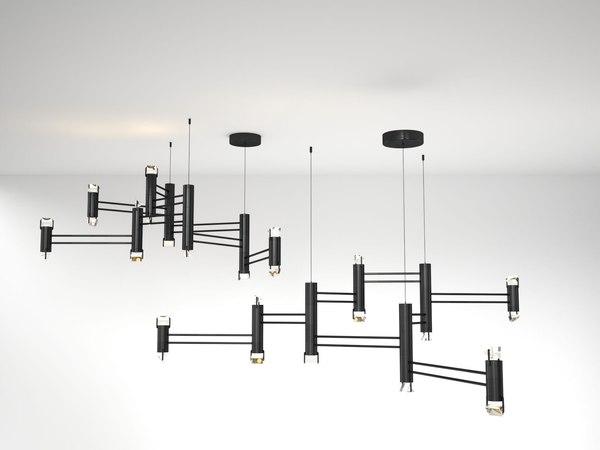aries viii pendant lamp 3D