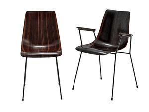 cm 131 chair 3D model