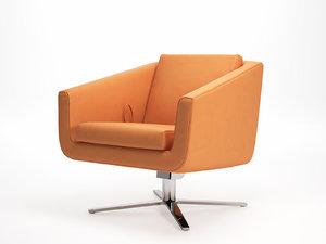 pavo armchair 3D