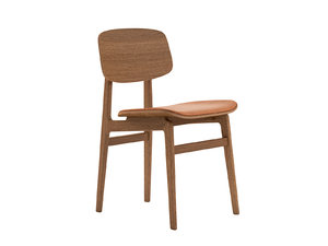 3D model ny11 dining chair upholstered