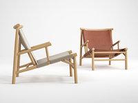 samurai lounge chair model