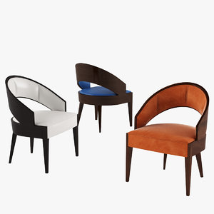 3D selva peggy chair