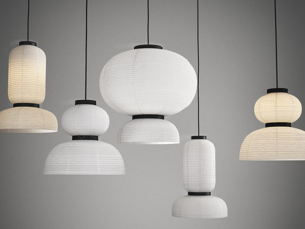 3D formakami lamps model