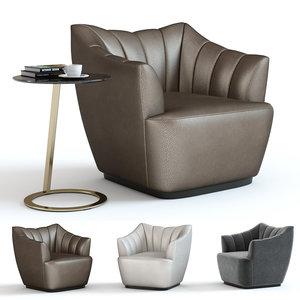 sofa chair fenton armchair 3D