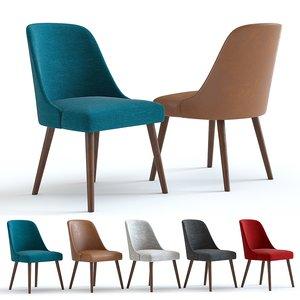 3D chair west elm