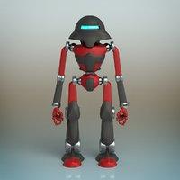droid ii robot 3D