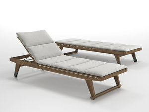 3D model gio chaise lounge