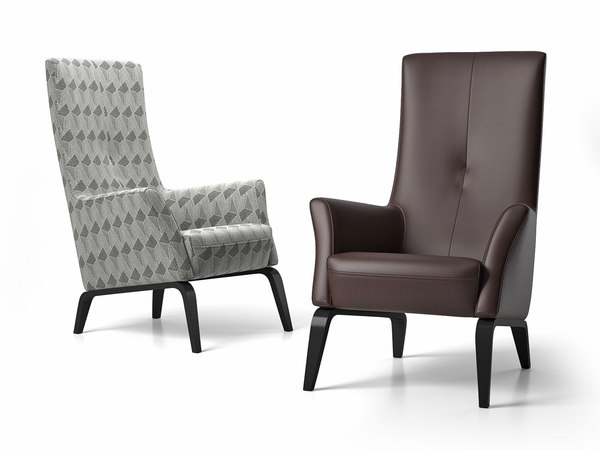 3D palio armchair model