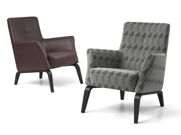 palio armchair 3D model