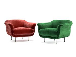 armchair style 3D
