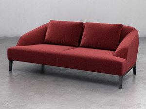3D sintra medium sofa model