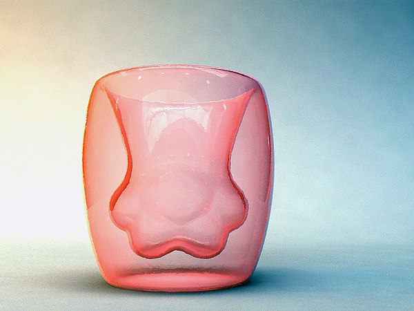 3D cat cup