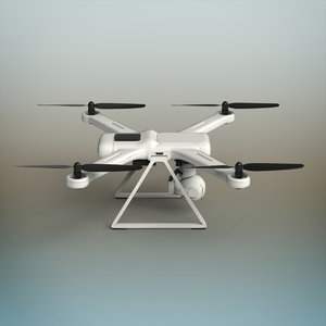 3D drone modeled