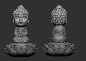 zb carved cute tea 3D model