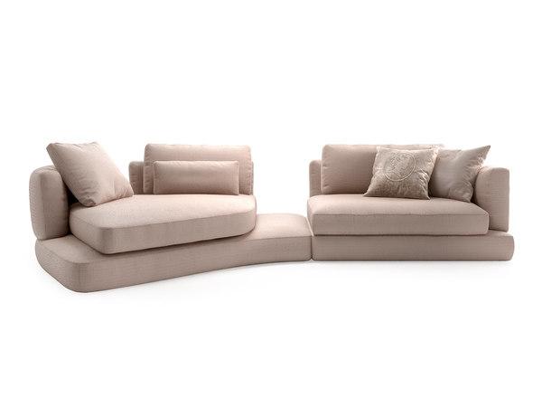 3D arabesque sofa compo 6