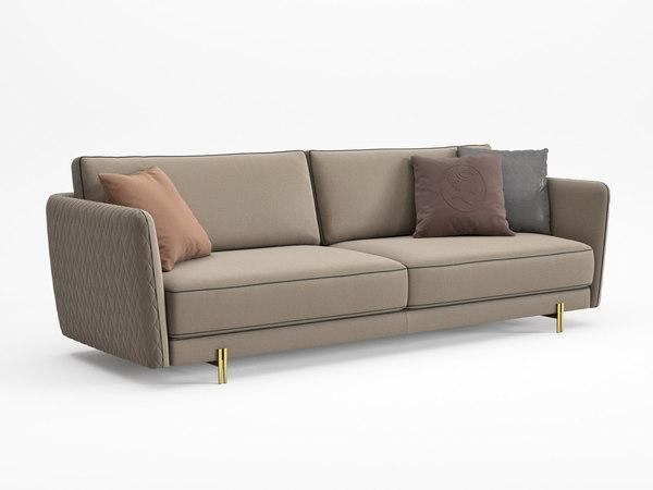 3D model conrad sofa 260