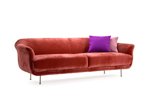 style 2-seater sofa 3D