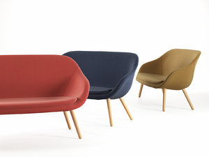 3D lounge sofa