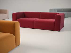mags 2 5-seater sofa 3D model
