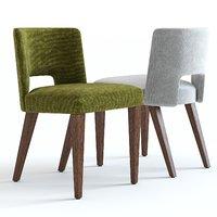 3D west elm ava dining chair