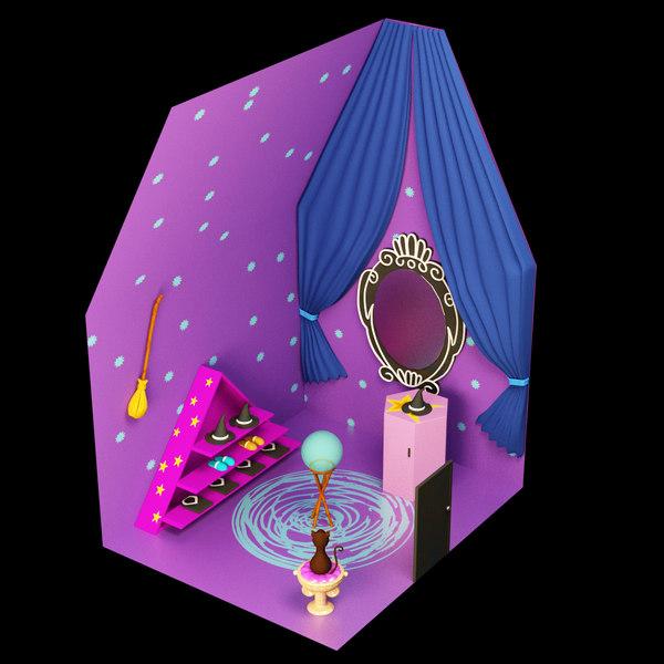 magic house 3D model