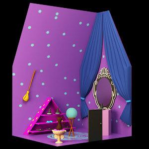 3D model house magic