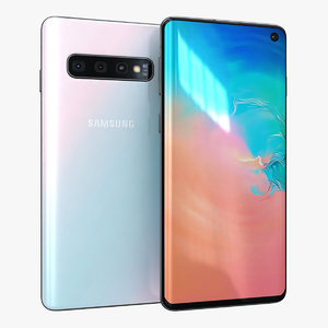 samsung galaxy s10 prism 3D model