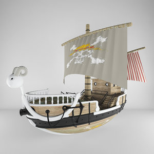 3D piece ship model
